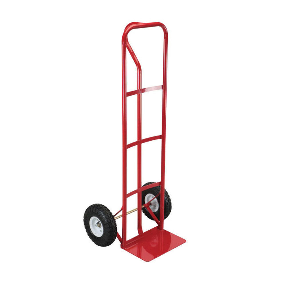 Hand Truck Large Red Industrial Heavy Duty Folding Sack Pneumatic Wheel Cart